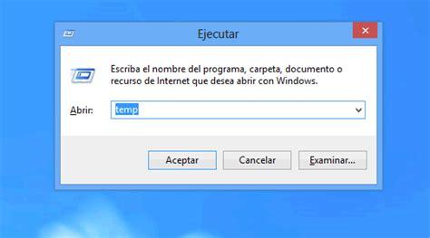 imagenes temporales windows 8 como eliminar archivos temporales de windows 8