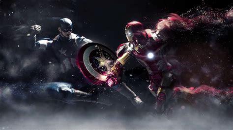 dreamscene animated wallpaper iron man captain