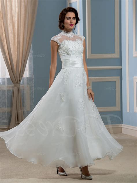 Length Wedding Dress by Ankle Length Lace Wedding Dresses Naf Dresses