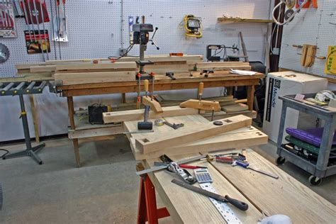 garage woodworking shop layout wood working