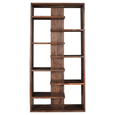 Floating Shelf Bookcase by Brownstone Floating Shelf Bookcase 70 Quot Nut Brown