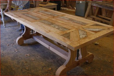 build a rustic dining room table unique custom trestle dining coma frique studio 9d1e8dd1776b