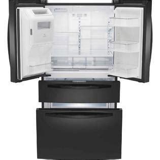 Kenmore Refrigerator Drawers by Kenmore 72389 26 2 Cu Ft Door Refrigerator W Fresh Storage Drawer Black