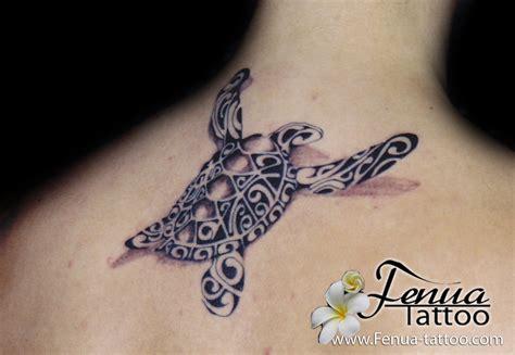 tatouage etoile de mer polynesienne tatouage 3d tortue polyn 233 sienne nuque femme
