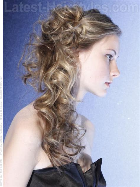 side curls hairstyles pinterest 1000 images about half up half down looks on pinterest