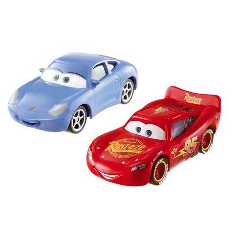 si鑒e auto 2 ans coffret 2 voitures cars lightening mcqueen et sally la