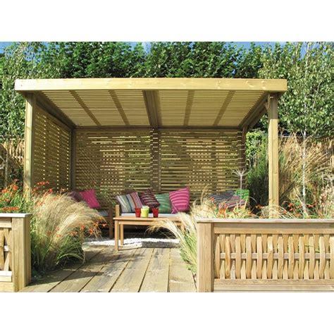 Garden Shelter Ideas Retreat Garden Shelter Jacksons Fencing