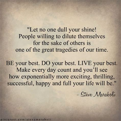 live your 14 days to the best you books quot let no one dull your shine willing to dilute