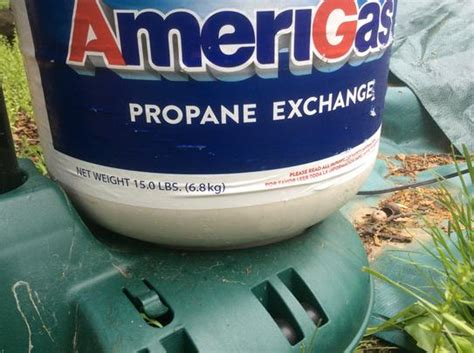 amerigas propane tank exchange 204s at the home depot mobile