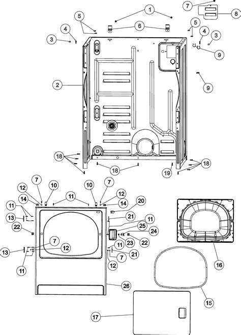 Maytag MDG4658AWW dryer parts | Sears PartsDirect