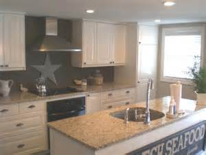 Makena s kitchen taupe gray walls paint color backsplash white