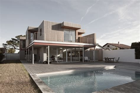 picture house modern house modern house r in anglet france