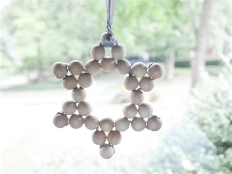 ornaments bead how to make a wooden bead ornament hgtv