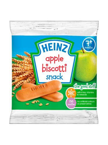Heinz Chocolate Biscotti 60g heinz 7 months apple biscotti snack 60g rohpharm pharmacy