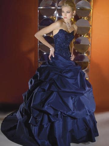 Wedding Dress Navy Blue by Blue And Navy Blue Wedding Dress Designs Wedding Dress