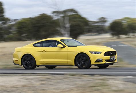 2016 ford mustang review ecoboost coupe drive