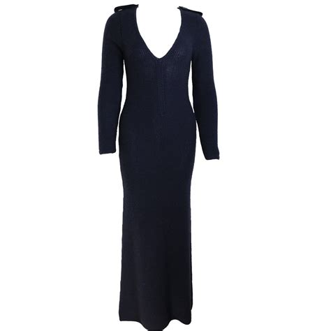 Maxi Dress Gucci tom ford for gucci navy maxi dress for sale at 1stdibs