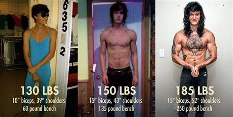 best ectomorph transformation ectomorph transformation shane duquette bony to