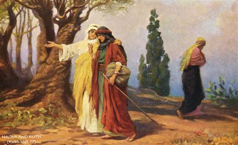 themes in book of ruth how ruth gleaned