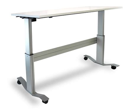 Desk With Whiteboard Markit Up The Adjustable Standing Desk With Flip