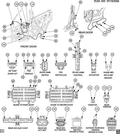 gmc acadia radio wiring diagram gmc free engine image