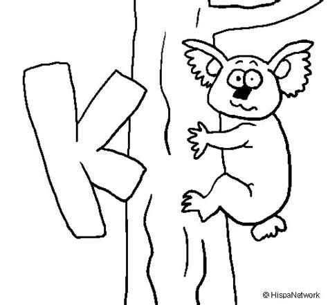 dibujos para colorear koala dibujo de koala 1 para colorear dibujos net