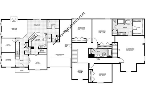 jefferson floor plan jefferson model in the highland woods subdivision in elgin