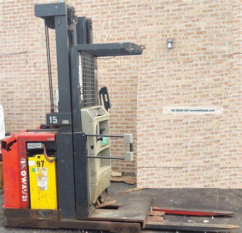 raymond swing reach truck raymond swing reach truck 162 opc30tt