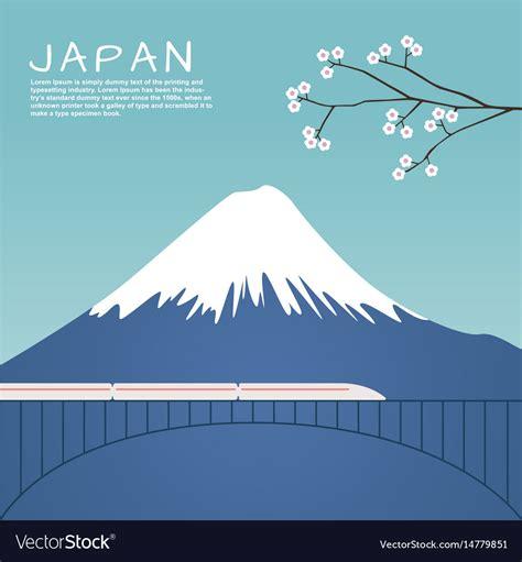 gunung fuji vector update tiket