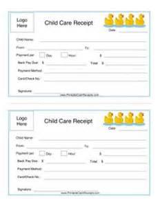 Child Care Receipt Template Free Printable Cash Receipt Form Pdf From Vertex42 Com