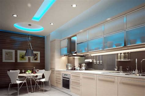 best led lights for kitchen ceiling led kitchen ceiling lights with a beautiful shades of blue