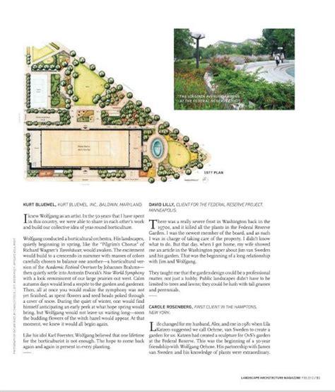 Landscape Architecture Magazine Zinio Landscape Architecture Magazine February 2012 31
