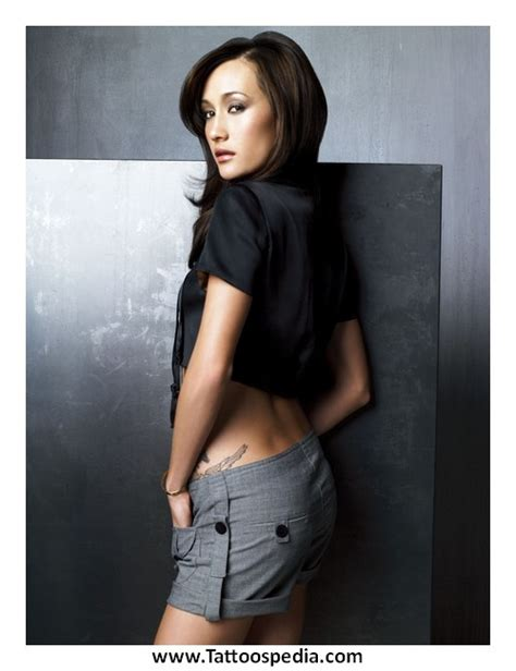 pictures maggie q tattoo nikita boyfriend tattoo