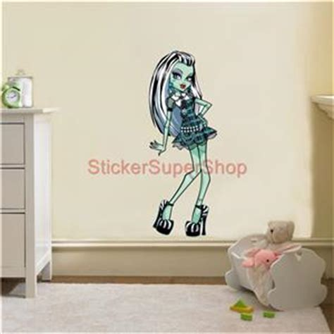 monster high home decor monster high frankie stein decal removable wall sticker