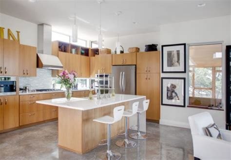concrete kitchen floor concrete floors both a statement and a functional choice