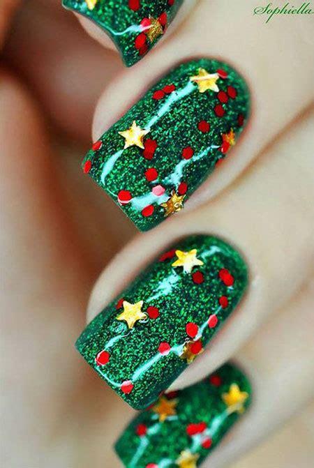 christmas gel nails art designs ideas  fabulous