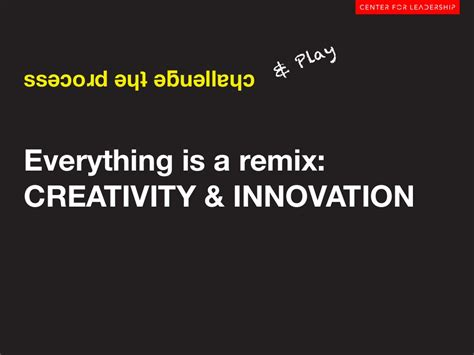 Mba In Innovation Vs Strategy by Play Ssǝɔoɹd ǝɥʇ ǝƃuǝllɐɥɔeverything Is
