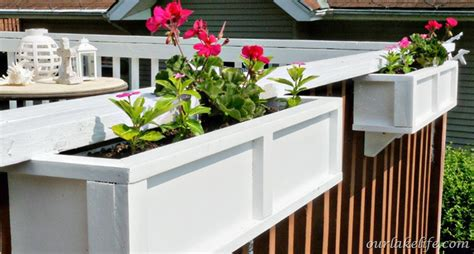 how to build a planter box for a deck interior design ideas