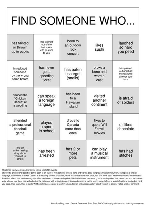 free printable bingo games for adults get to know you getting to know you bingo cards to