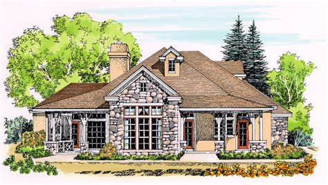 rugged home rugged country home plan 12525rs architectural designs house plans