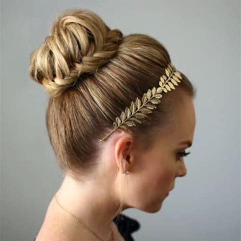 headband braid with a doughnut bun 1000 ideas about donut bun hairstyles on pinterest