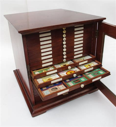 Cabinet M A by Microscope Slide Collectors Cabinet M Pillischer