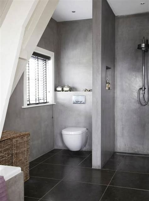 Bathroom Flooring Ideas Concrete 20 Amazing Bathroom Designs With Concrete