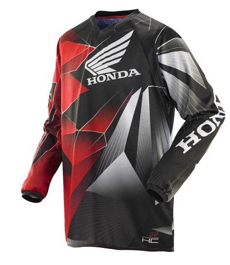 honda motocross jerseys fox racing hc honda red black dirt bike jersey motocross