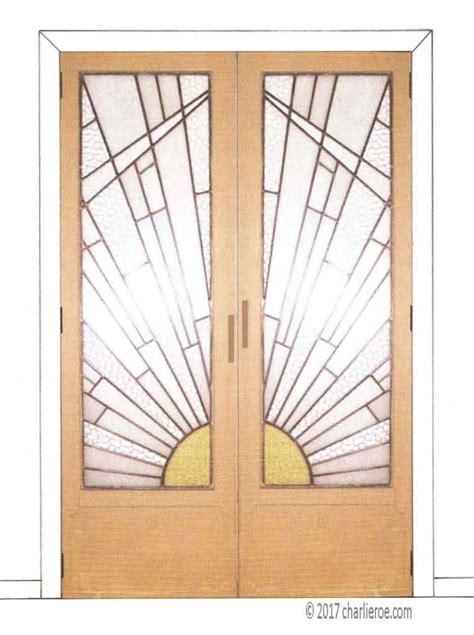 Art Deco Doors Deco Glass Doors