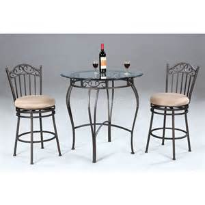 Rod Iron Dining Room Set Wrought Iron Counter Height Dining Room Set Chintaly Imports Furniture Cart