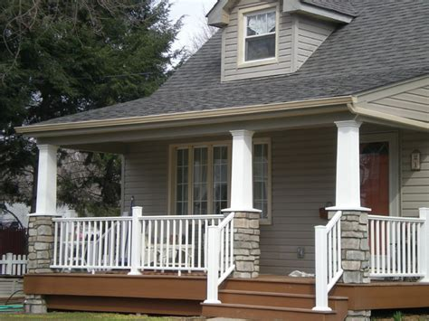 Craftsman Style Porch | craftsman style cape cod craftsman porch new york