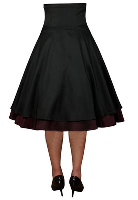 swing dance skirts rockabilly work vintage pin up formal retro swing dress