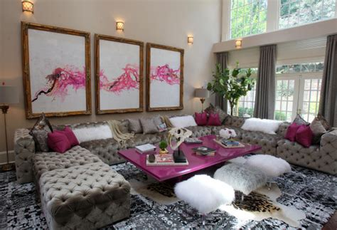 home decor in atlanta housewives of atlanta s kandi burress shows off her home