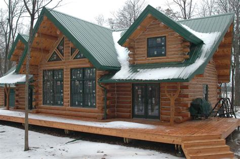 Cabin Check by With A Must See Interior This Splendid Log Home Is Just